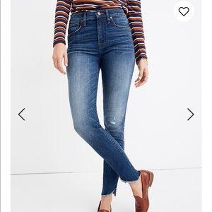 High-Rise Skinny Madewell jeans